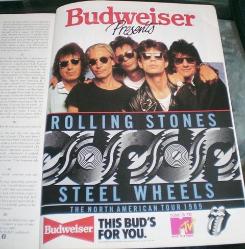 Rolling Stones Steel Wheels Tour 1989 (3/3)